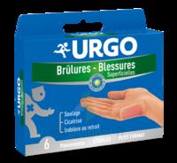 Urgo Brulures-blessures Petit Format X 6 à Hagetmau
