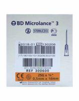 Bd Microlance 3, G25 5/8, 0,5 Mm X 16 Mm, Orange  à Hagetmau