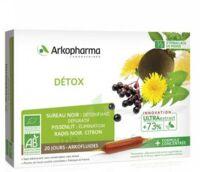 Arkofluide Bio Ultraextract Solution Buvable Détox 20 Ampoules/10ml à Hagetmau