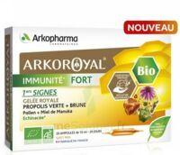 Arkoroyal Immunité Fort Solution Buvable 20 Ampoules/10ml à Hagetmau