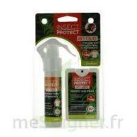 Insect Protect Spray Peau + Spray VÊtements Fl/18ml+fl/50ml à Hagetmau