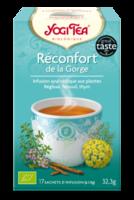 Yogi Tea Reconfort De La Gorge à Hagetmau