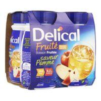 Delical Boisson Fruitee Nutriment Pomme 4bouteilles/200ml à Hagetmau