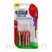 Gum Trav - Ler, 0,8 Mm, Manche Rouge , Blister 4 à Hagetmau
