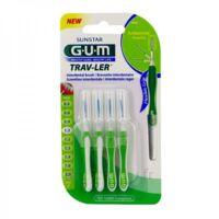 Gum Trav - Ler, 1,1 Mm, Manche Vert , Blister 4 à Hagetmau
