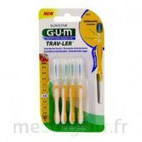 Gum Trav - Ler, 1,3 Mm, Manche Jaune , Blister 4 à Hagetmau