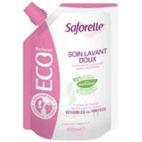 Saforelle Solution Soin Lavant Doux Eco-recharge/400ml à Hagetmau