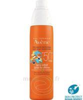 Avène Eau Thermale Solaire Spray Enfant 50+ 200ml à Hagetmau