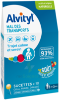 Alvityl Sucette Mal Des Transports B/10 à Hagetmau