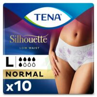 Tena Lady Silhouette Slip Absorbant Blanc Normal Large Paquet/10 à Hagetmau