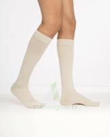 Sigvaris Essentiel Coton Chaussettes  Homme Classe 2 Sable Small Normal à Hagetmau